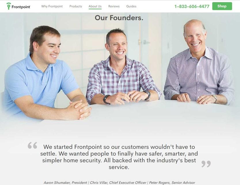 Frontpoint Background Information