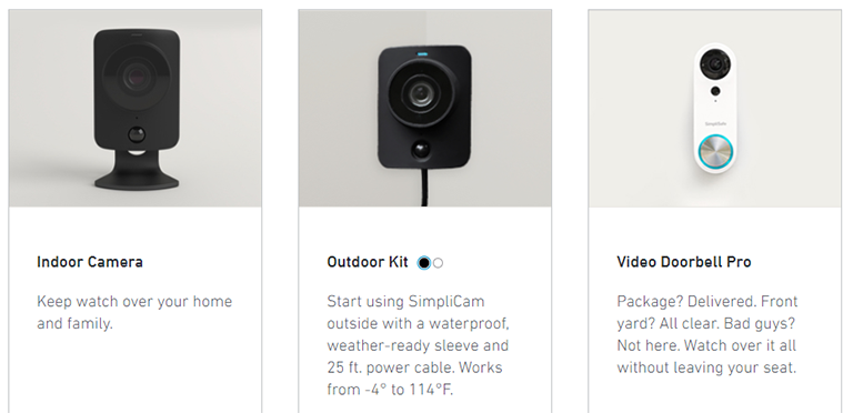 SimpliSafe Camera