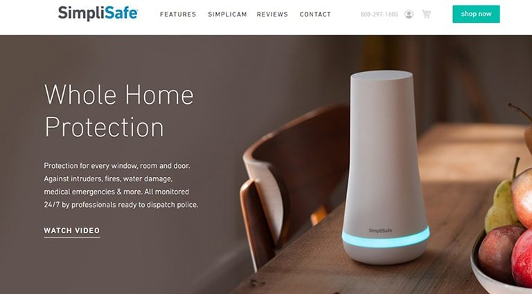 SimpliSafe Home Security Systems-simplisafe