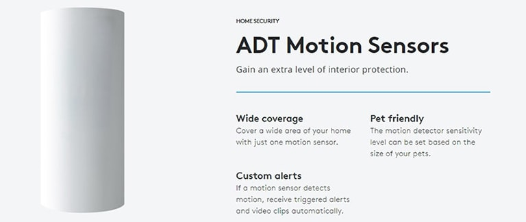 ADT Motion Pet Friendly