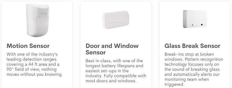 Frontpoint Intrusion Sensors