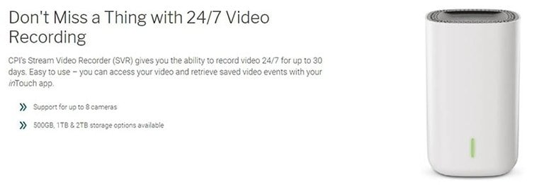 Real-Time Video Stream or Recorded Videos CPI