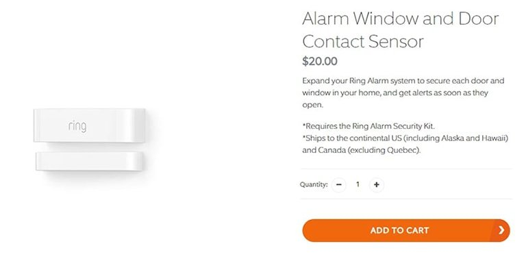 Ring Contact Sensor