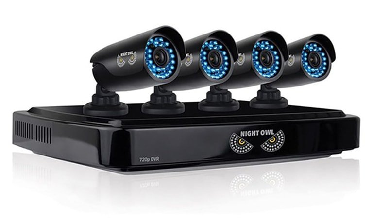 Security AHD7-8a41 8 Channel Smart Video System