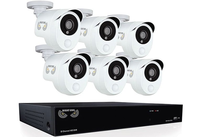 Security HD201-86P-B Video Security Camera