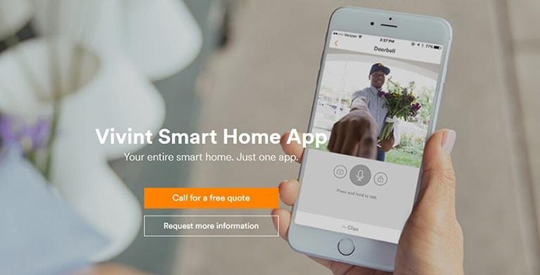 Smart Home App Vivint