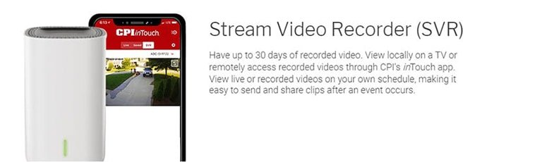 Stream Video Recorder CPI