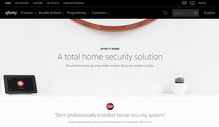 Сomcast Xfinity Home Security Review: Overview, Pricing & Features Image