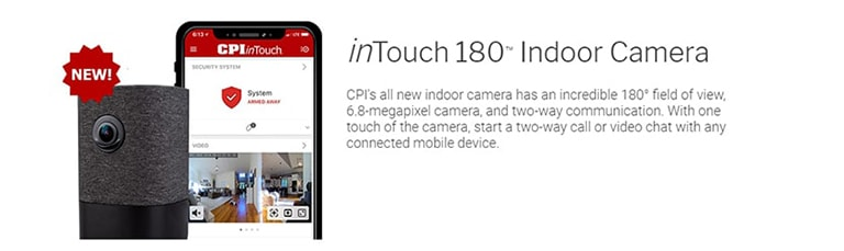 inTouch 180 Indoor Camera CPI