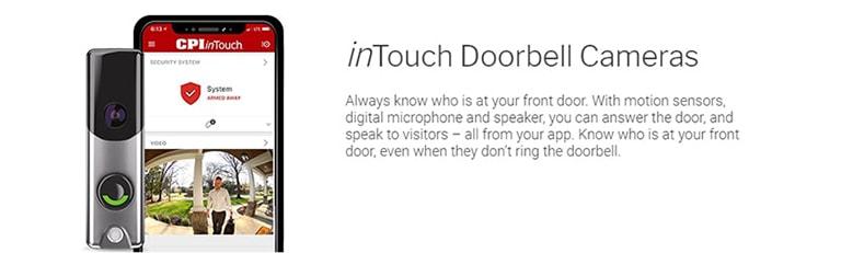 inTouch HD Doorbell Camera CPI
