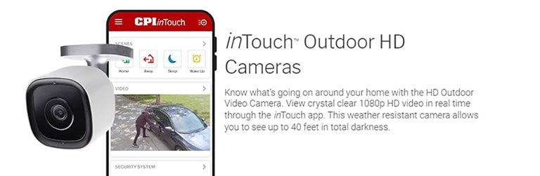 inTouch HD Outdoor Camera CPI