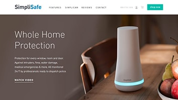 Self Monitored SimpliSafe Main