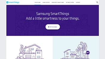 Self Monitored SmartThings Main