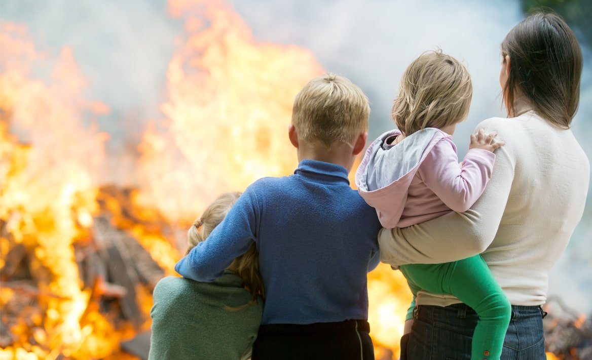 Fire Safety Kids and Family