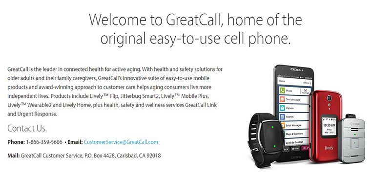 GreatCall Background Information