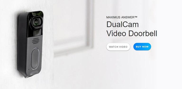 Kuna Maximus Answer Dual Cam Video Doorbell