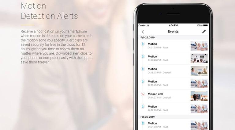 Zmodo Mobile Alerts