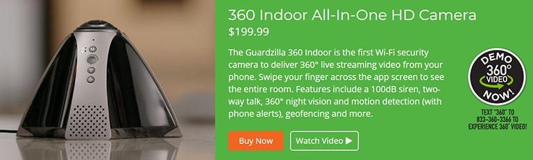 Guardzilla 360 Indoor HD Camera