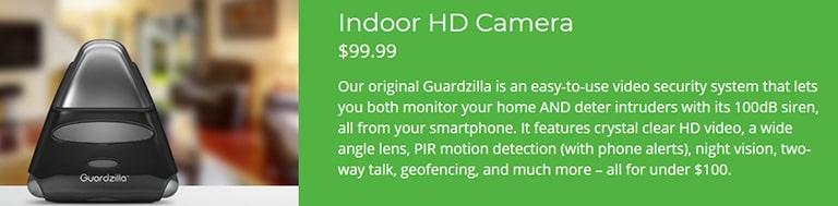 Guardzilla Indoor HD Camera