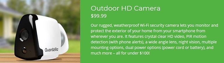 Guardzilla Outdoor HD Camera