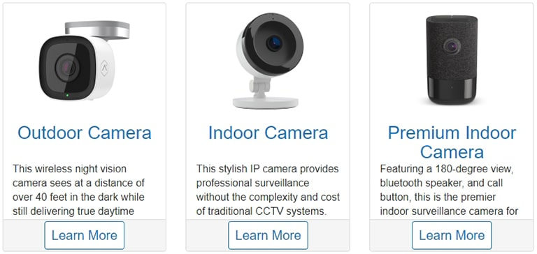 Link Interactive Video Surveillance