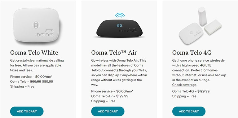 Ooma Plans