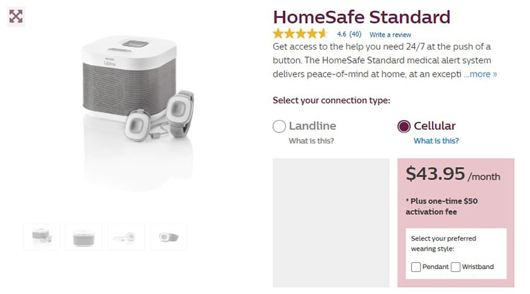 Philips HomeSafe Standard (Cellular)