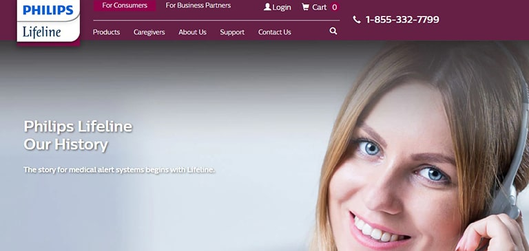Philips Lifeline Background Information