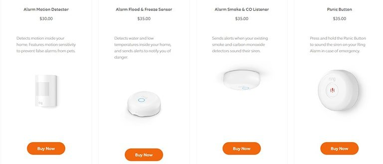 Ring Alarms & Sensors