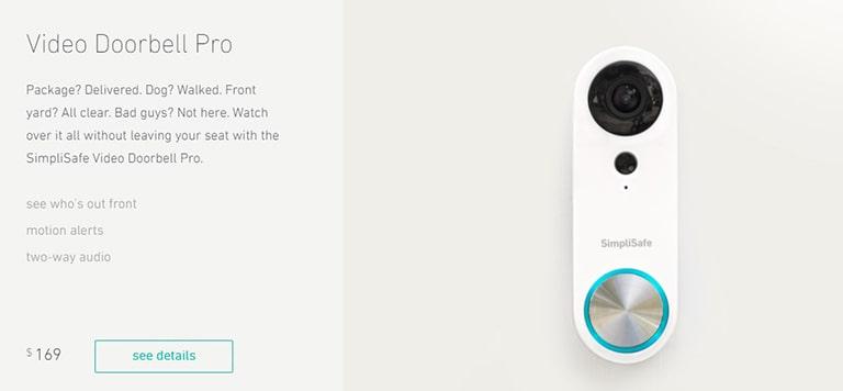 SimpliCam Video Doorbell Pro Review
