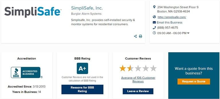 SimpliSafe Reviews