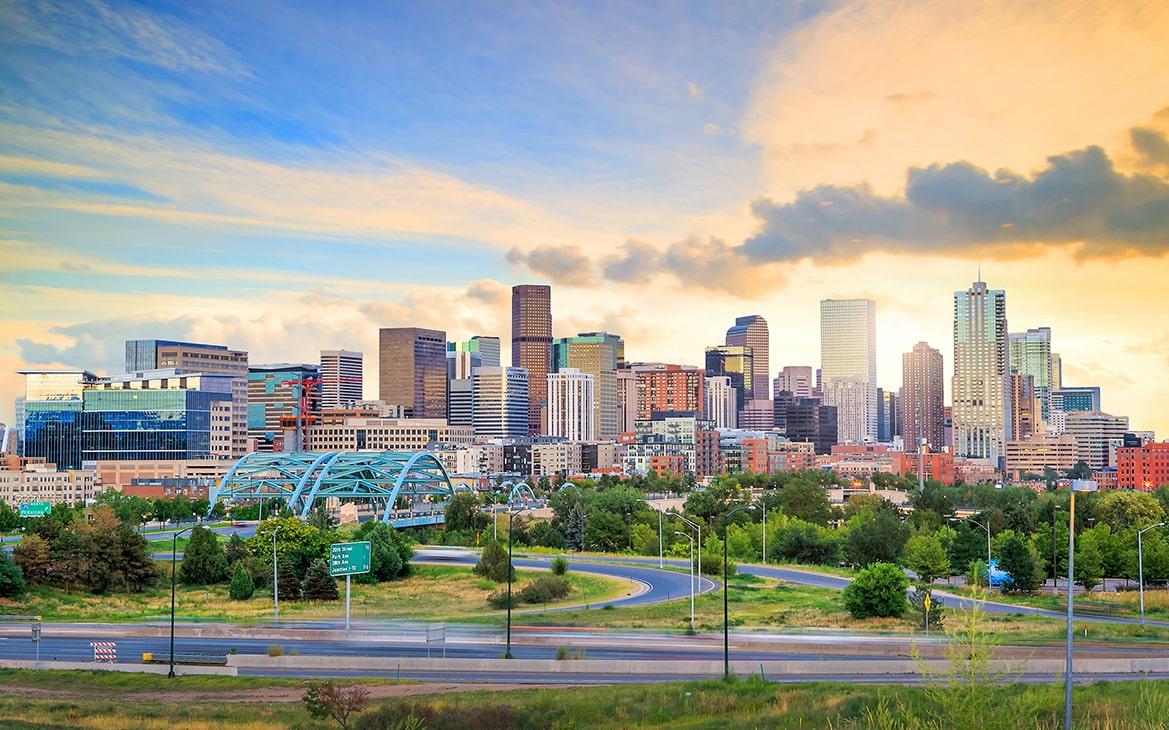 Colorado Denver Panorama