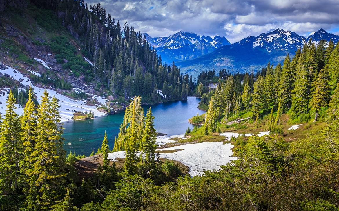 Montana Glacier National park Landscape