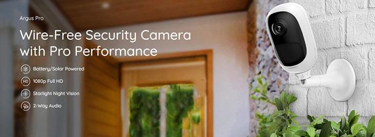 Reolink Cameras Argus Pro