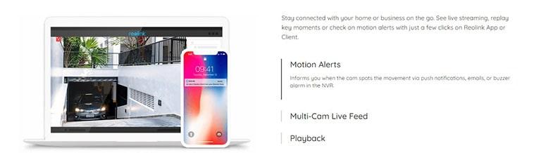 Reolink Cameras Motion Detection & Alerts
