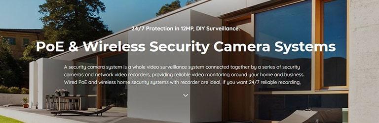 Reolink Cameras PoE & Wireless Security Camera