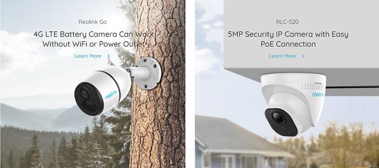 Reolink Cameras Surveillance Cameras