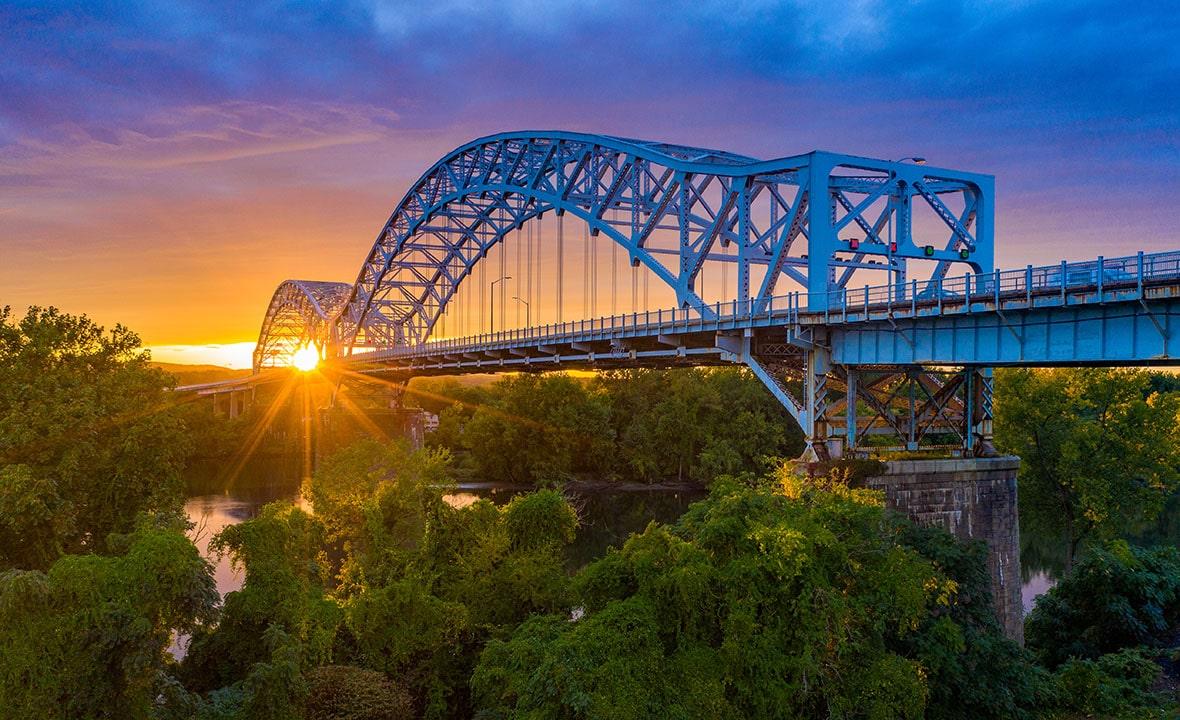 Connecticut Arrigoni Bridge