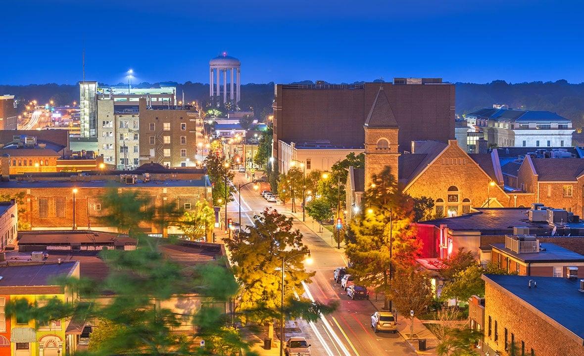 Missouri Columbia Downtown