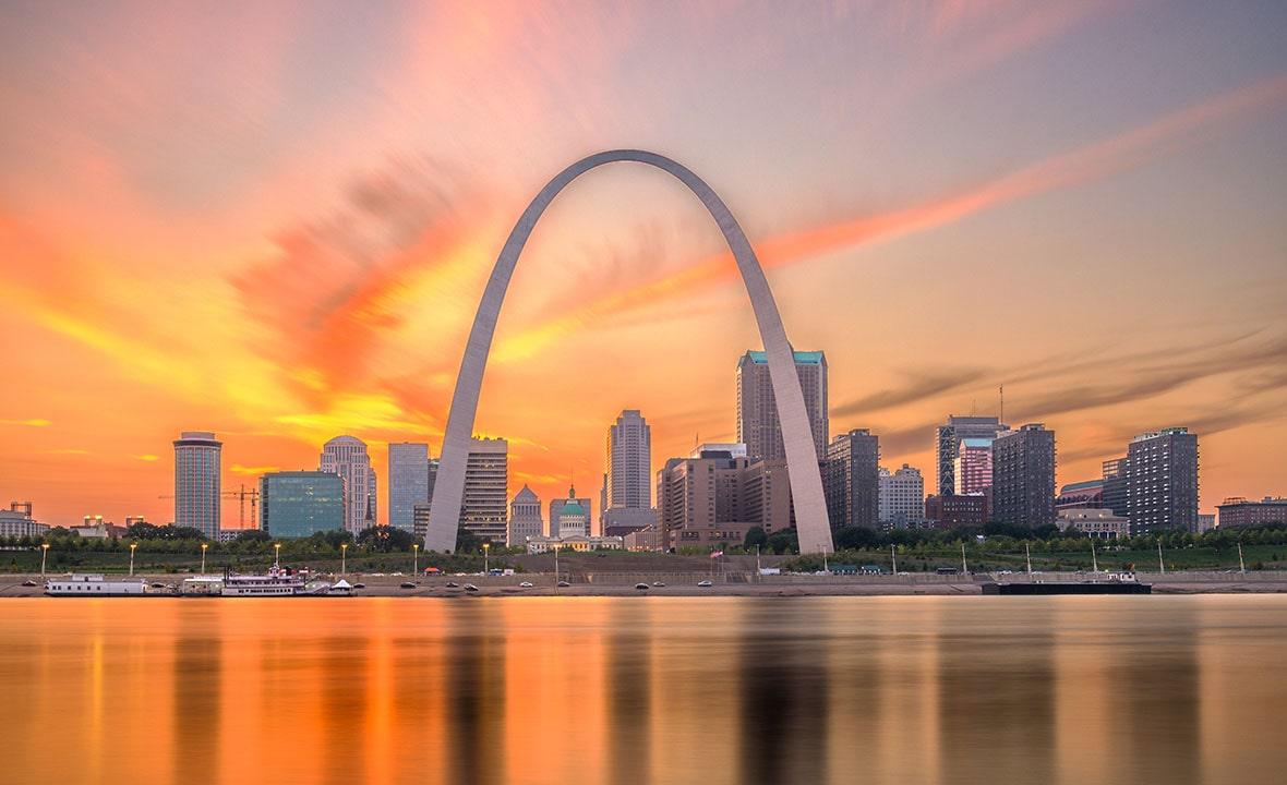 Missouri Panoramic St. Louis Downtown