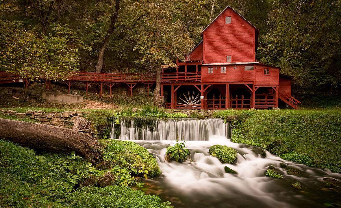 Missouri Waterfall