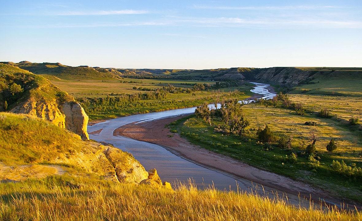 North Dakota River