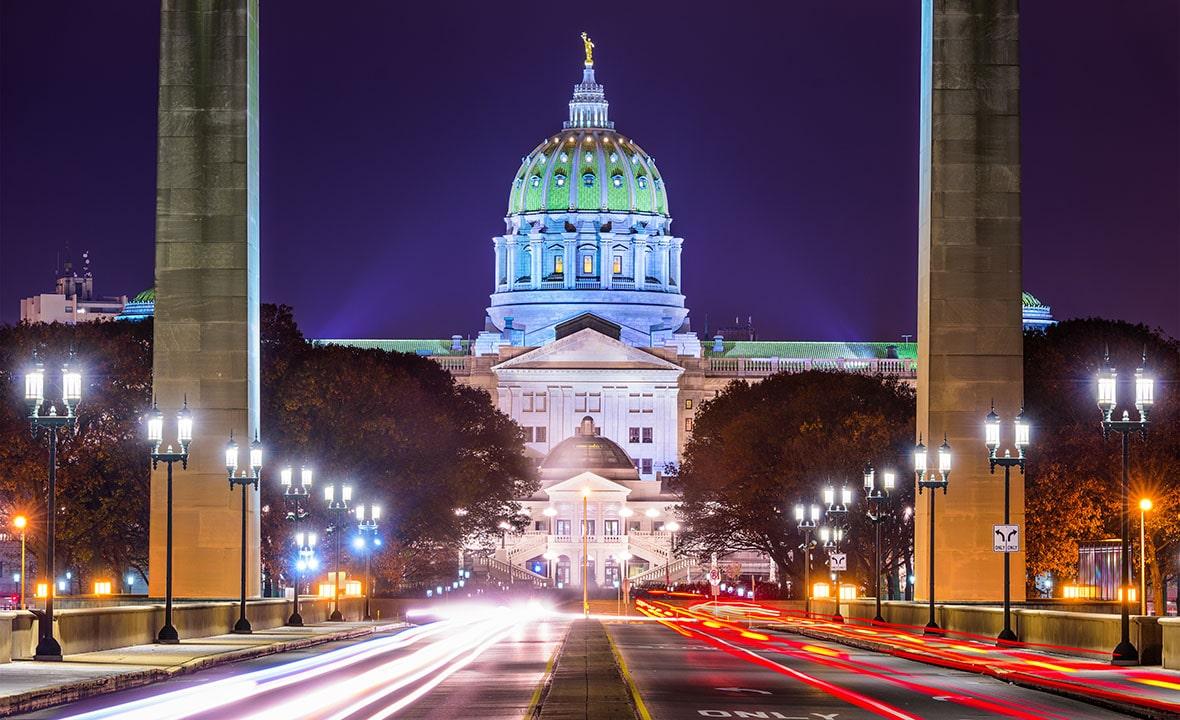 Pennsylvania Capitol Bridge