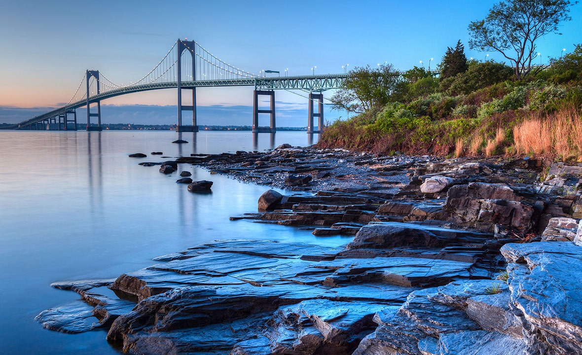 Rhode Island Newport Bridge