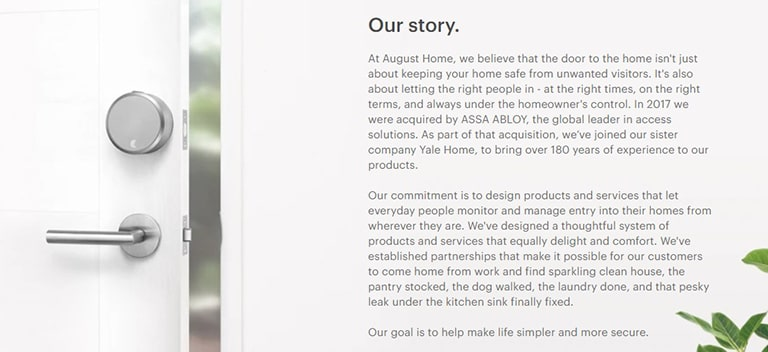 August Doorbell Background Information