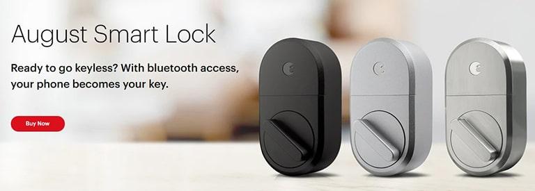 August Smart Lock Design
