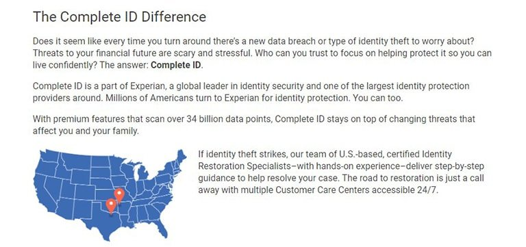 Complete ID Background Information