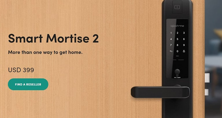 Igloohome Mortise 2