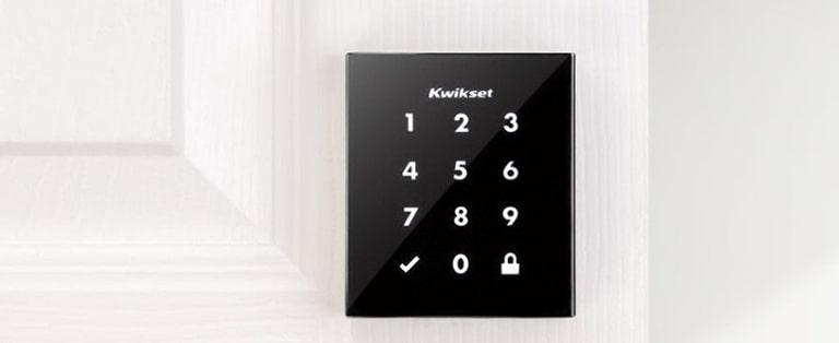 Kwikset Obsidian Keywayless Electronic Touchscreen