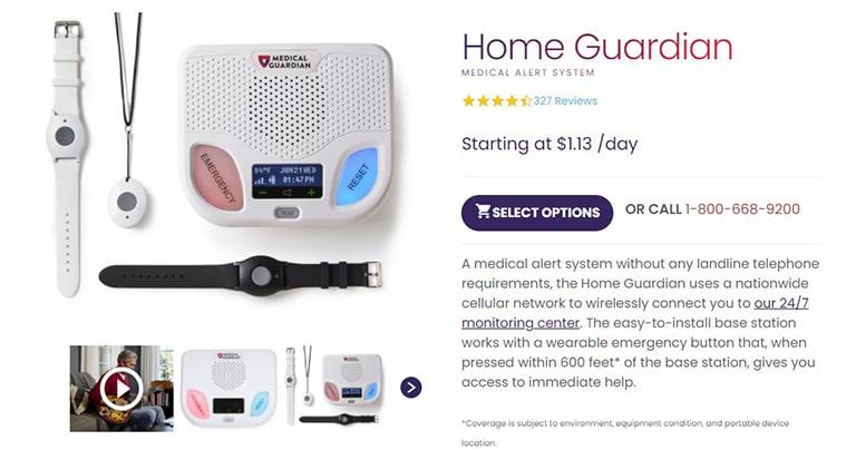 Medical Guardian Home Guardian
